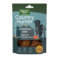 Natures Menu Country Hunter Superdood Bars Adult Dog Treats - Duck with Carrot & Pumpkin Seeds