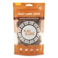 Kai Kuri Air-Dried Goat Lung Bites Dog Treat
