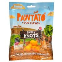 Pawtato Vegan Dog Chews - Small Knots