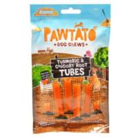 Benevo Pawtato Vegan Tubes Dog Treats - Turmeric & Chicory Root