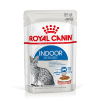Royal Canin Indoor Adult Sterilized Wet Cat Food - Gravy