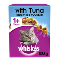 Whiskas Adult 1+ Complete Dry Cat Food - Tuna