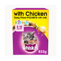 WHISKAS 2-12 Months Kitten Complete Dry with Chicken