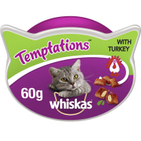 WHISKAS Temptations Cat Treats with Turkey