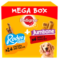Pedigree Rodeo Duos & Jumbones Medium Adult Dog Treats