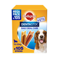 Pedigree Dentastix Daily Adult Medium Dog Dental Treats