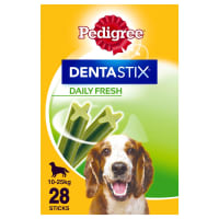 Pedigree Dentastix Fresh Daily Adult Medium Dog Dental Treats