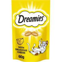 Dreamies Adult & Kitten Cat Treats - Cheese
