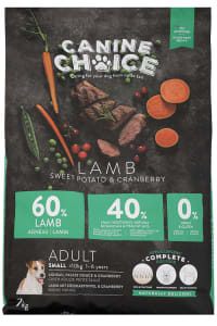 Canine Choice Adult Mini Hundefutter - Lamm