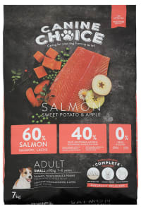 Canine Choice Grain Free Small Adult Dry Dog Food – Salmon