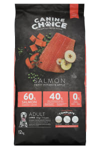 Canine Choice Grain Free Large Adult Dry Dog Food - Salmon