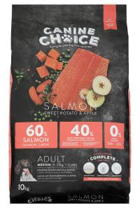 Croquettes pour chien de moyenne taille Canine Choice - Saumon