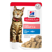 Hill's Science Plan Mature Adult 7+ Wet Cat Food Pouches - Ocean Fish