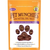 Pet Munchies 4+ Months Puppies Dog Training Treats - Liver & Chicken