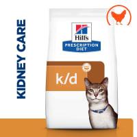 Hill's Prescription Diet Kidney Care k/d Dry Cat Food - Chicken
