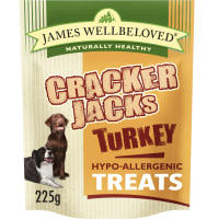 James Wellbeloved CrackerJacks Hypo-Allergenic Dog Treats - Turkey