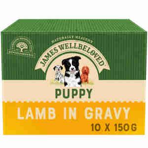 James Wellbeloved – Nassfutter für Welpen (Truthahn & Reis)