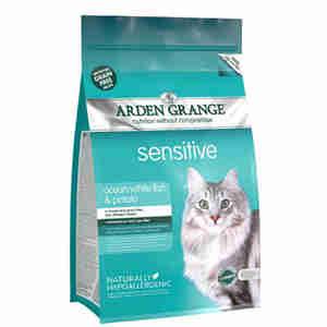 Arden Grange - Sensitive Seefisch und Kartoffel Katzenfutter