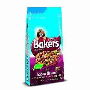 Bakers Complete mit Speck, Leber und Gemüse