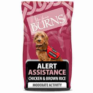 Burns Canine Alert - Poulet & Riz Brun