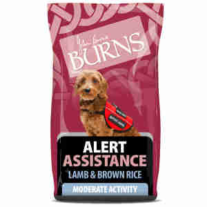 Burns Alert Chien Adulte - Agneau & Riz Brun