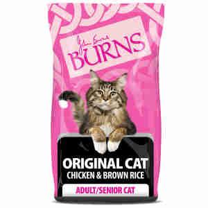 Burns Original Chat Adult & Senior - Poulet & Riz brun