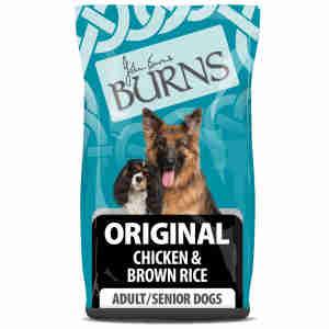 Burns Original Chien Adulte & Senior- Poulet & Riz Brun