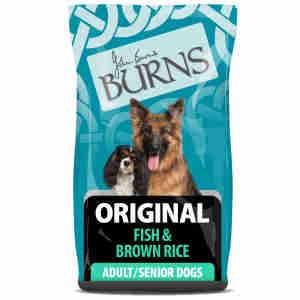 Burns Original Chien Adulte et Senior - Poisson & Riz Brun