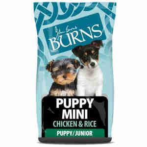 Burns Puppy Mini Chiot - Poulet & riz