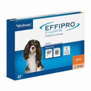 Effipro Spot On voor honden (2-10kg)