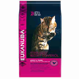 Eukanuba Adult Overweight & Sterilised Katzenfutter