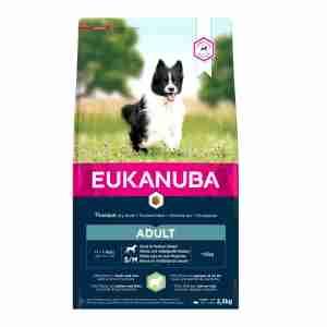 Eukanuba Adult Small & Medium Breeds (Lam & Rijst) voor honden