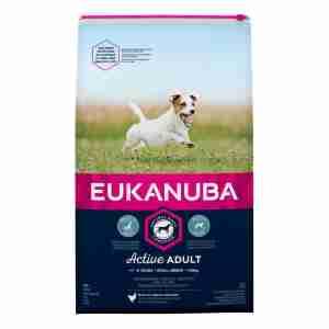 Eukanuba Voor Actieve Volwassen Honden Van Kleine Rassen