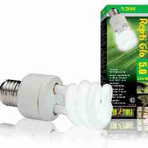 Exo Terra Reptiglo 5.00 Compact Tropical Lamp T10