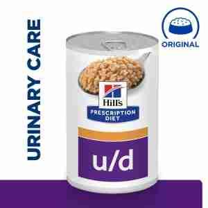 Hills Prescription Diet u/d voor honden