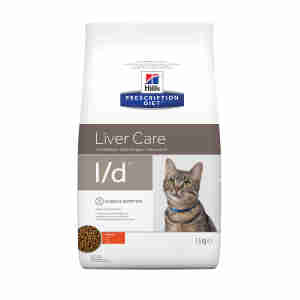 Hills Prescription Diet l/d voor katten