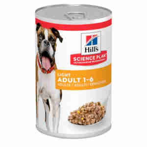 Hills Adult Light (Kip) voor honden
