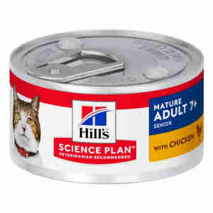 Hills Mature 7+ Active Longevity (Kalkoen of Kip) voor katten