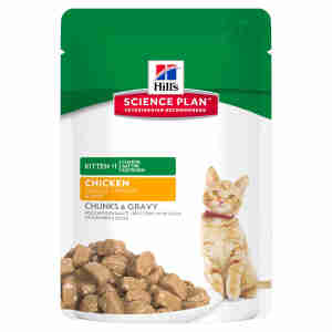 Hill's Science Plan Kitten Pouch Tender Chunks
