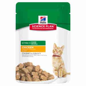 Hill's Science Plan Kitten Tender Chunks Multi-Pack
