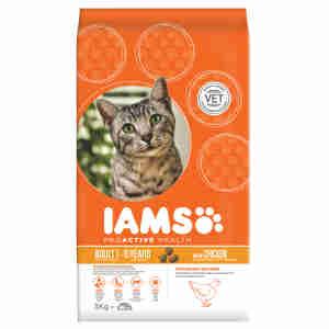 Croquettes IAMS au poulet pour chats