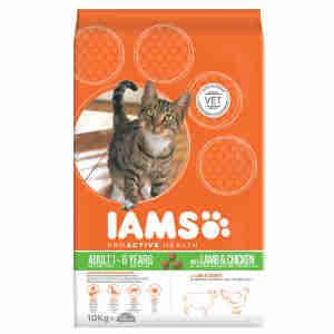 Iams Katzenfutter mit Lamm