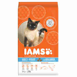 IAMS Chat Adult - Poisson & Poulet