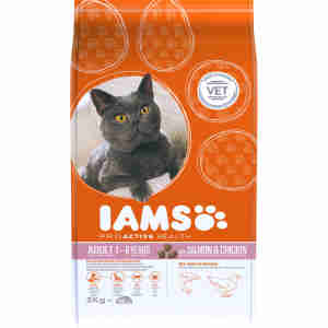 IAMS - Chat Adulte - Saumon & Poulet