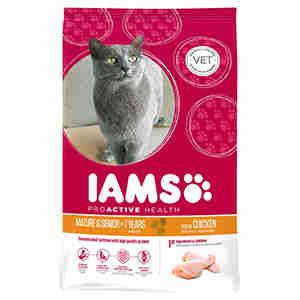 Iams ProActive Health Senior & Mature Chicken (Kip) voor katten