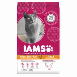 Iams Mature & Senior Cat Food with Ocean Fish & Chicken