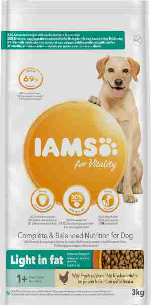 Iams Light Hundefutter