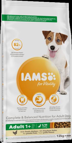 IAMS – Adult kleine/mittlere Hunderassen