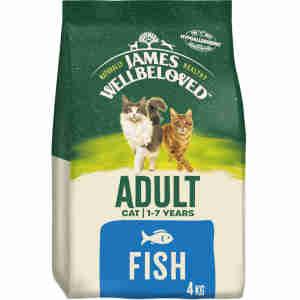 James Wellbeloved -Adult cat Food - Ocean Fish & Rice