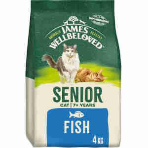 James Wellbeloved – Senior Katze (Fisch & Reis)